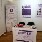 Company's Booth at the Career Days Event