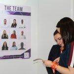 Team reviewing the CVs