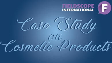 Case study on cosmetic products,